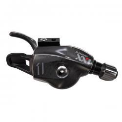 Manette de dérailleur SRAM 2015 vtt 11v Trigger XX1 noir décor argent et rouge