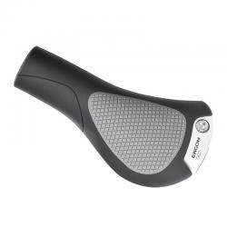 Poignées de guidon ERGON caoutchouc Comfort Ville GC1 30 ergonomic noir décor gris