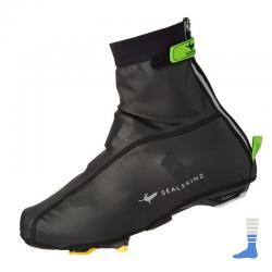 Surchaussures SEALSKINZ hiver Lightweight Waterproof noir