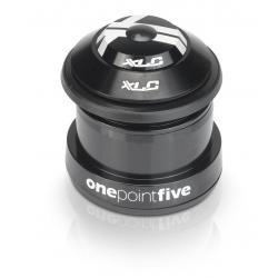 Direction XLC acier HS110 semi-intégré Haut 44mm 1P1/8 et externe Bas 49.7mm 1P5 noir