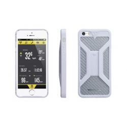 Etui téléphone TOPEAK support iPhone 5 RideCase blanc