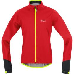 Veste imperméable GORE BIKE Power GoreTex Active Shell rouge décor noir