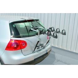 Porte-vélo PERUZZO sur coffre arrière Cruiser Delux noir pour 3 vélos