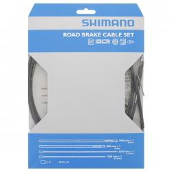 Cables+Gaine SHIMANO frein route PTFE Noire