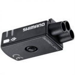 Boitier connexion SHIMANO électrique externe DI2 EW90A noir 3 ports pour cables extèrieurs