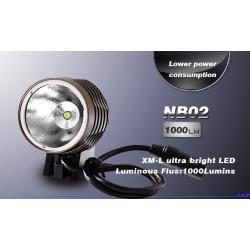 Eclairage avant INTON étanche NB02 Cree T6/U2 grise