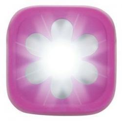 Feu avant KNOG Blinder-1 Flower rose - 1 led blanc 20 lumens - 100% étanche - 4 modes - autonomie flash 11h - visible à