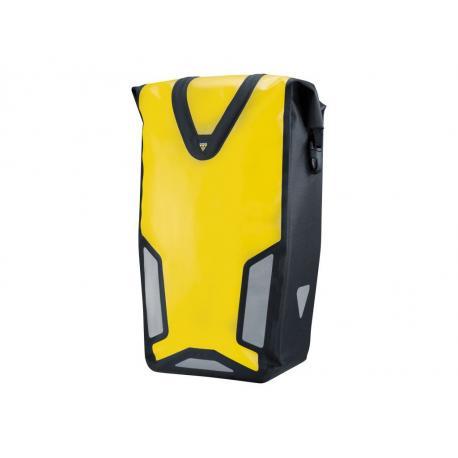 Sacoche TOPEAK arrière latérale étanche Pannier DryBag DX jaune et noir