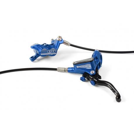 Frein à disque HOPE arrière Tech-3 E4 bleu levier noir