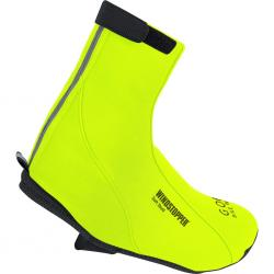 Surchaussures GORE BIKE hiver Road Windstopper Thermo Néon jaune fluorescent