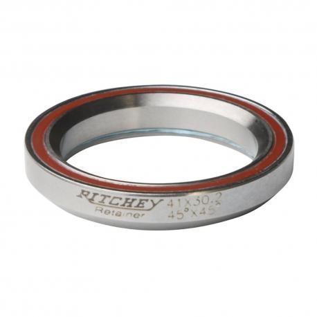 Roulement direction RITCHEY acier intégré Pro Taper 1.5 D51.9 d40 Ep8mm 45x45dg