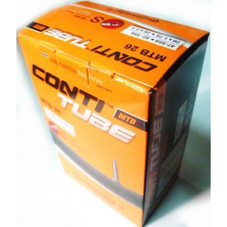 Chambre à air CONTINENTAL vtt MTB 26 S-42 butyl noire