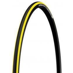 Pneu 700 MICHELIN route Pro4 Endurance noir jaune flancs noir