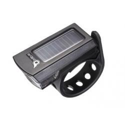 Feu avant OWLEYE Nano noir - 1 led blanc - 2 modes : 1 flash et 1 constant - auto flash 8h - constant 4h - résiste à l'eau