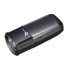 Eclairage avant énergie solaire OWLEYE Highbredlux 40 1led - noir - auto 3h mode fort ou 6h mode eco - rechargement
