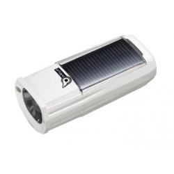 Eclairage avant énergie solaire OWLEYE Highbredlux 40 1led - blanc - auto 3h mode fort ou 6h mode eco - rechargement