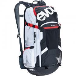 Sac à dos EVOC vtt Protector Trail Unlimited noir décor blanc et rouge