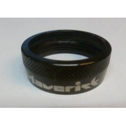 Bague de serrage MAVERICK alu noire D33mm - support cache-poussière - tige Speedball Maverick - UNITE.