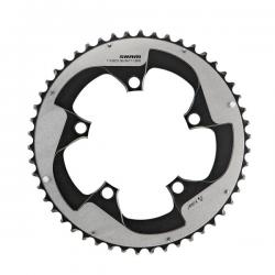 Plateau 110 SRAM alu route 10v Red Tungsten extérieur compact