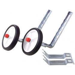 Stabilisateurs OXC enfant 12/20 roulettes blanches pour vélo enfants avec roues de 12 à 20 pouces