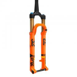 Fourche vtt 29p Fox-Racing-Shox 2018 32 Float SC 29 Factory 100 CTD Kashima Adjust FIT4 Disc orange décor noir et jaune