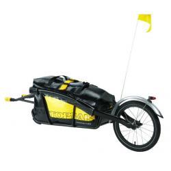 Remorque monoroue TOPEAK alu Journey Trailer noir avec sac étanche DryBag 66 litres 1.25kg