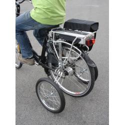 Stabilisateurs FUTEK EZ Trainer senior chromés pour vélo adultes de 26 (650) et 28 (700) pouces
