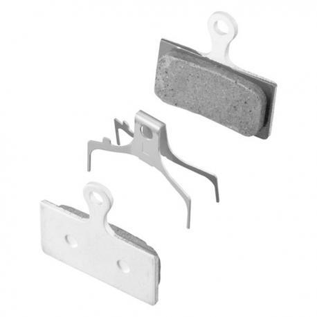 Plaquettes de frein SHIMANO support alu G02A sans ventilation