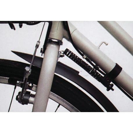 Amortisseur de direction HEBIE permet d' empècher le balancement latéral de la direction dans le cas où l'avant du vélo