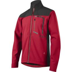 Veste thermique FOX hiver Attack Fire rouge bordeaux décor noir -