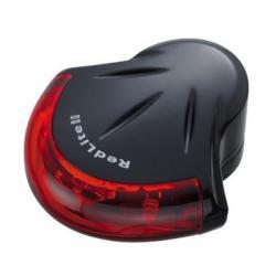 Feu arrière TOPEAK à pile RedLite-II noir