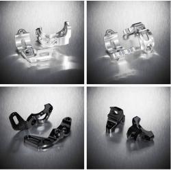 Support manettes de dérailleur HOPE alu Matchmaker Tech noir Shimano XTR 980 970 XT 780 SLX 670 pour freins Tech Hope