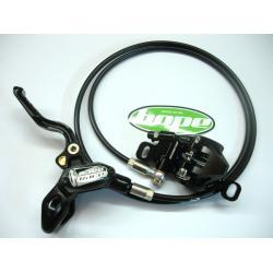 Frein à disque HOPE avant Race X2 - PostMount 160mm - durite standard - Sans disque - 201gr - ppc 190 €ttc - KIT / JEU.