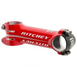 Potence RITCHEY route ou vtt Wcs 4-Axis Wet - 31.8 mm - 84/6 degrés - Rouge brillant - ppc 100 €ttc - 116gr - 100mm.