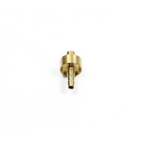 Insert HOPE cuivre durite noire 5 mm et durite aviation 5.7 mm (1 cercle) et durite 5.7 ancienne version