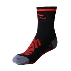Chaussettes MEDILAST Pro Energy noir décor rouge