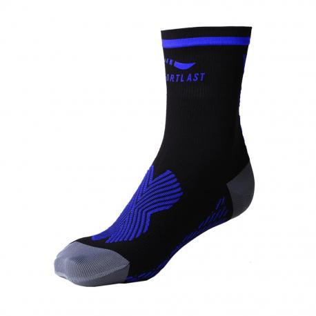 Chaussettes MEDILAST Pro Energy noir décor bleu