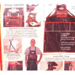 Tablier atelier FINISHLINE coton renforcé Shop Apron