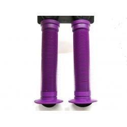 Poignées de guidon ODI Longneck St - 143 mm - coloris purple - PAIRE.