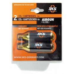 Cartouches SKS air comprimé CO2 16gr avec filetage