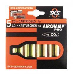 Cartouches SKS air comprimé CO2 16gr
