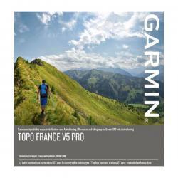 Cartographie GARMIN vtt Topo France v5 Pro