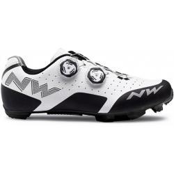 Chaussures NORTHWAVE vtt Rebel blanc décor noir