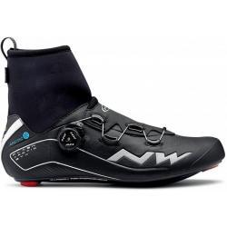 Chaussures NORTHWAVE route hiver Flash Artic GoreTex noir décor argent