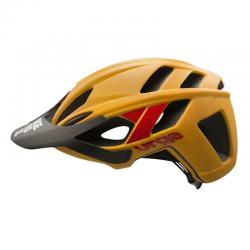 Casque URGE vtt TrailHead orange mat décor rouge