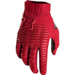Gants longs FOX vtt Sidewinder rouge bordeau