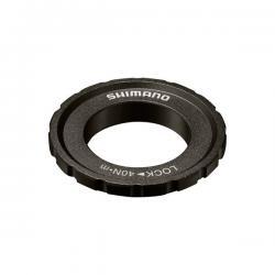Ecrou centerLock SHIMANO acier M618 35mm noir