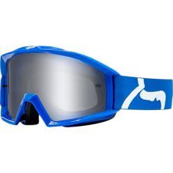 Masque FOX vtt Main bleu décor blanc