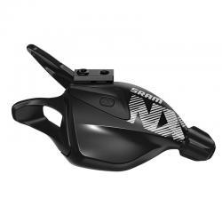 Manette de dérailleur SRAM vtt 12v Trigger NX Eagle Black noir décor gris et blanc
