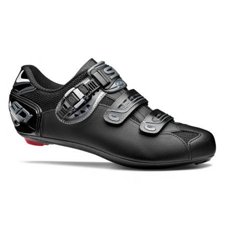 Chaussures SIDI route Genius 7 Mega noir mat décor gris